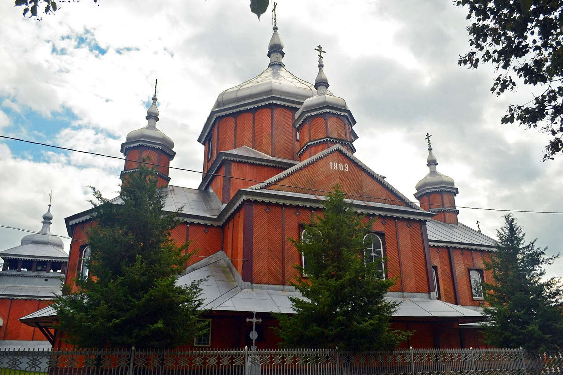 Церква Різдва Пресвятої Богородиці в смт Солотвин
