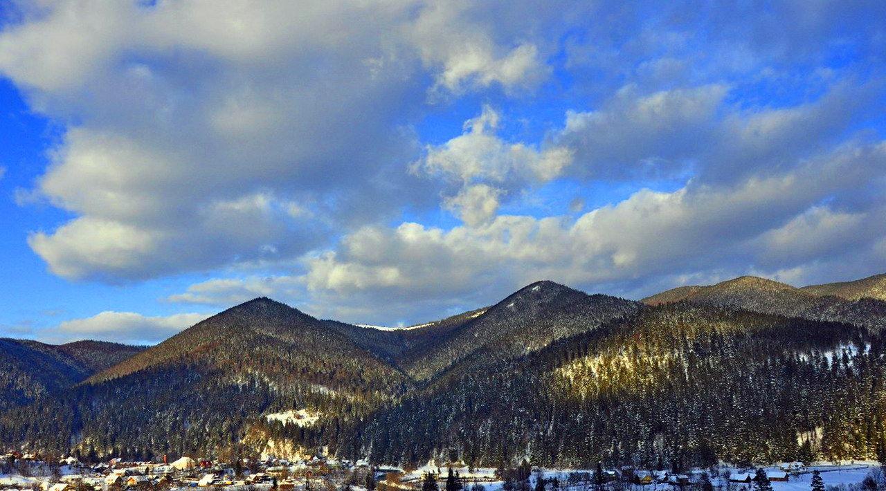Зима в Татарові