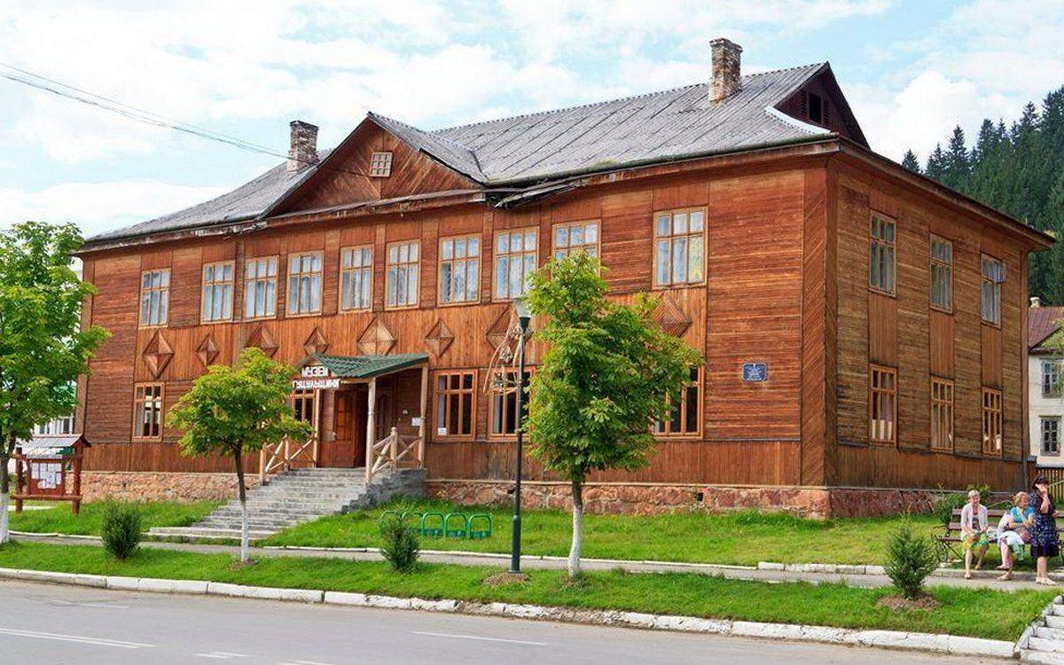 Верховина, историко-краеведческий музей Гуцульщины