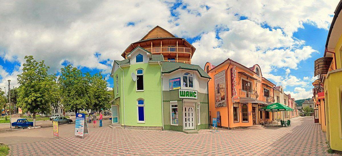 Карпатское туристическое поселение Верховина