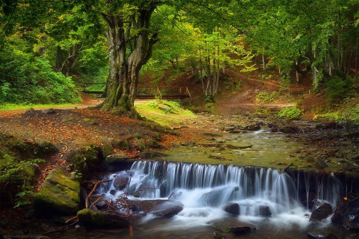 Біля с. Пилипець водоспад Шипіт