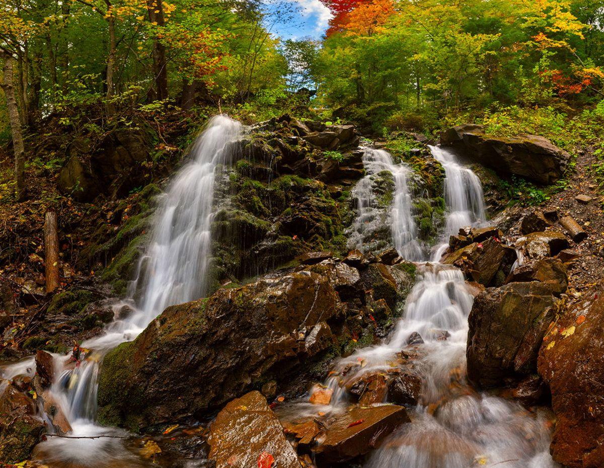 Водопад Труфанец — описание, фото, карта, координаты | Karpaty.life