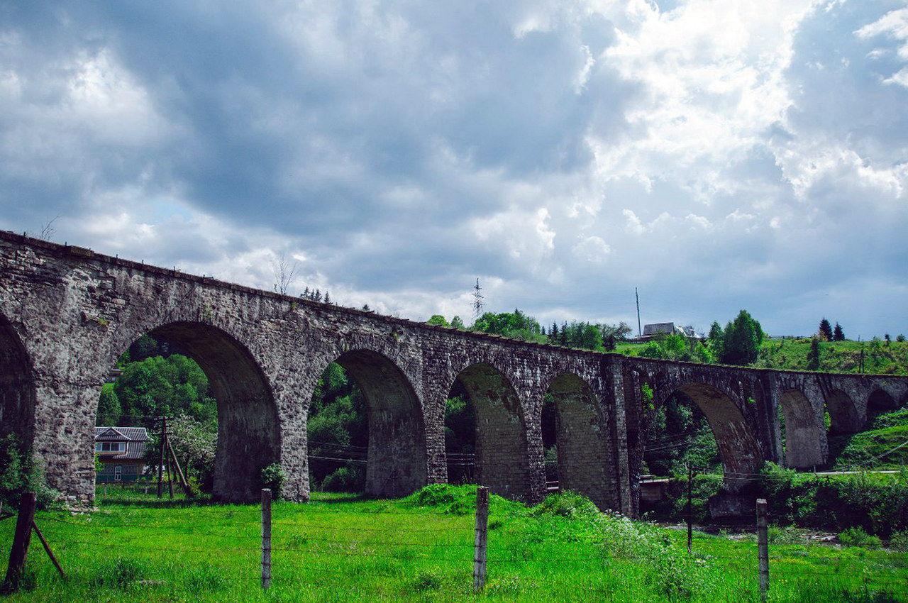Міст Віадук у Ворохті