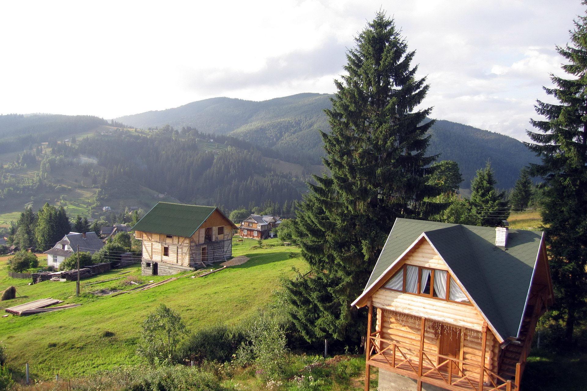 Панорама Ворохти