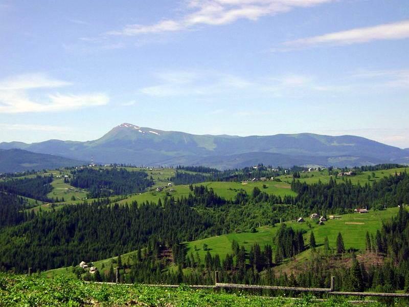 Гірське село Яблуниця