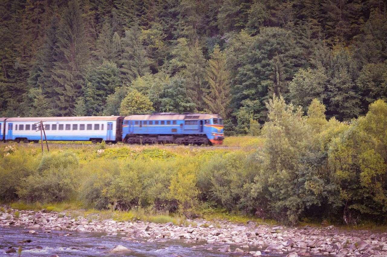 Поїзд Червона Рута, м. Яремче