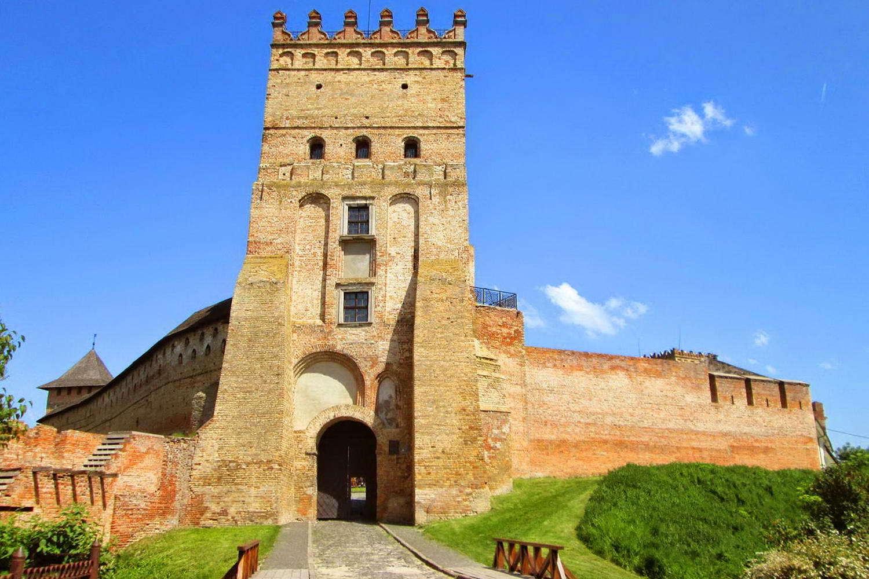 Замок Любарта, вхід до замку