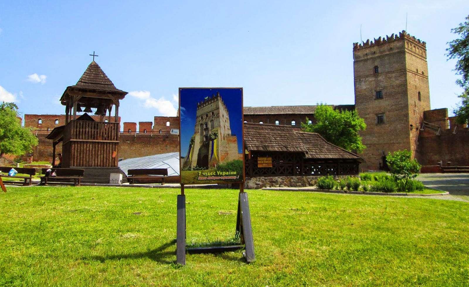 Вид із середини, замок Любарта