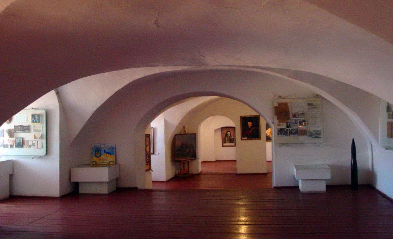 Замок Паланок всередині