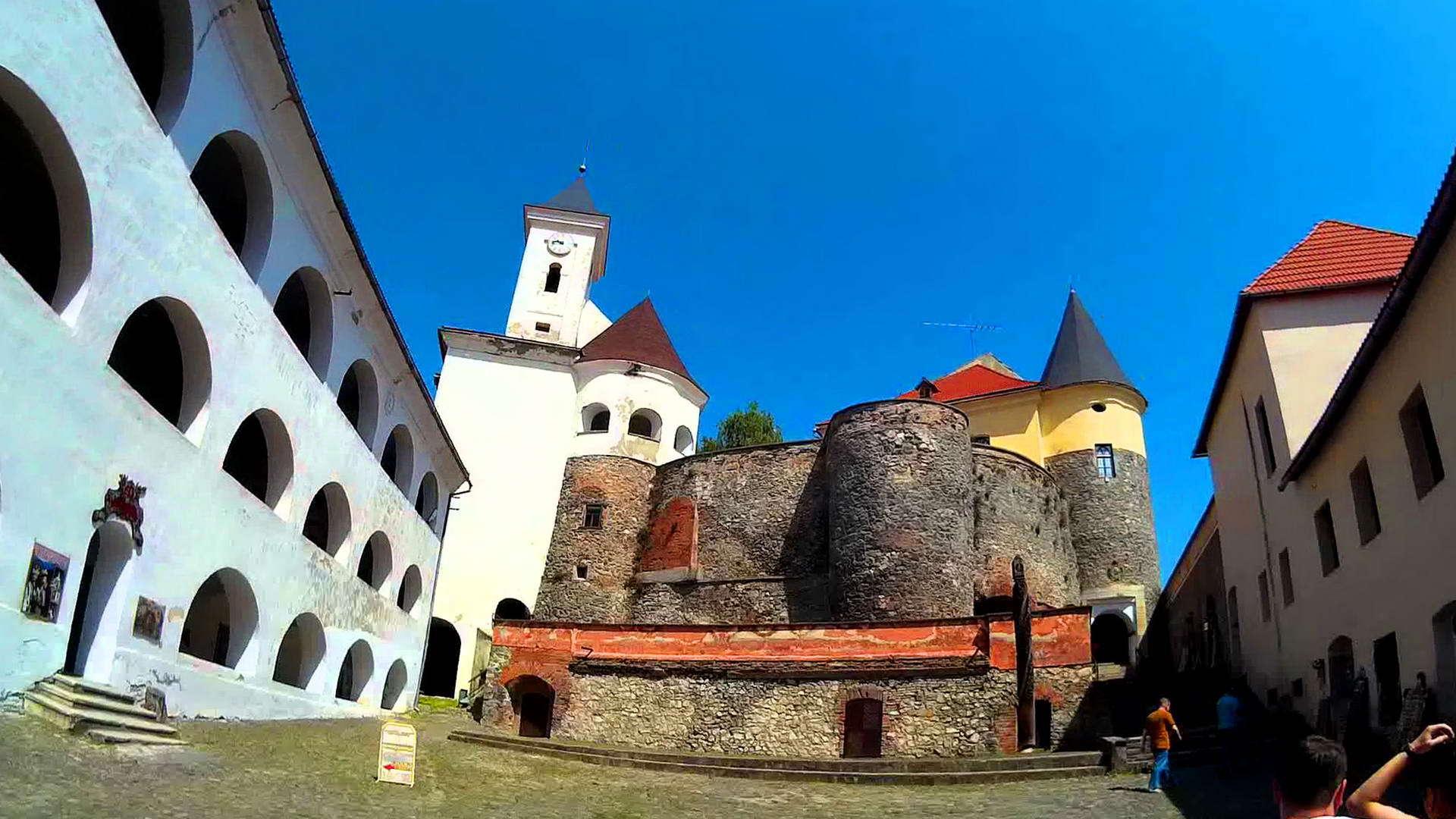 Закарпатська область, замок Паланок