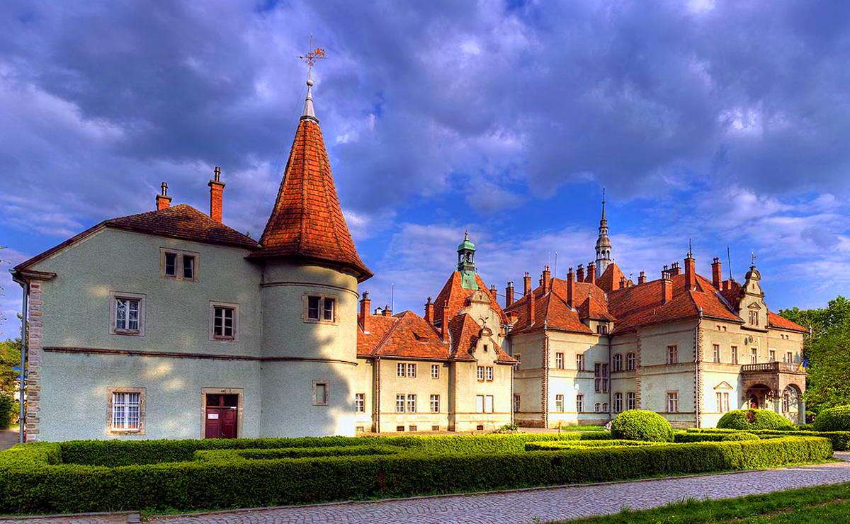 Закарпатська область, замок Шенборнів