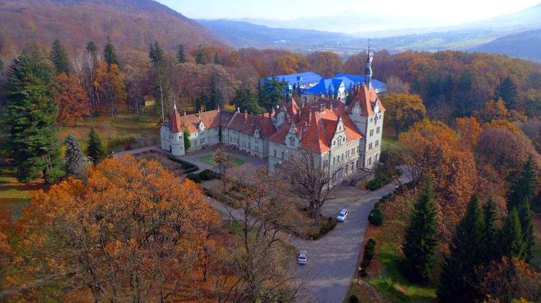 Закарпаття, замок Шенборнів